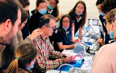Reanudamos el máster en la Sociedad Catalana de Odontoestomatologia